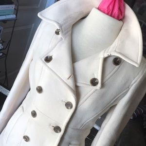 Ivory Peacoat by J Crew
